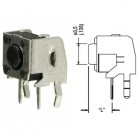 TACT SWITCH VERTICAL 4P 12V 50MA 6X6X3,5MM  BUTON 3.1MM